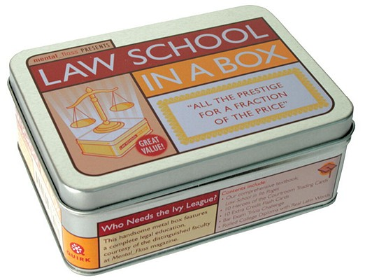Law School in a Box By Mental Floss (COR)